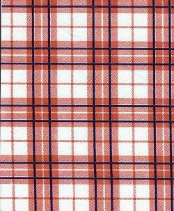 glen plaid oilcloth