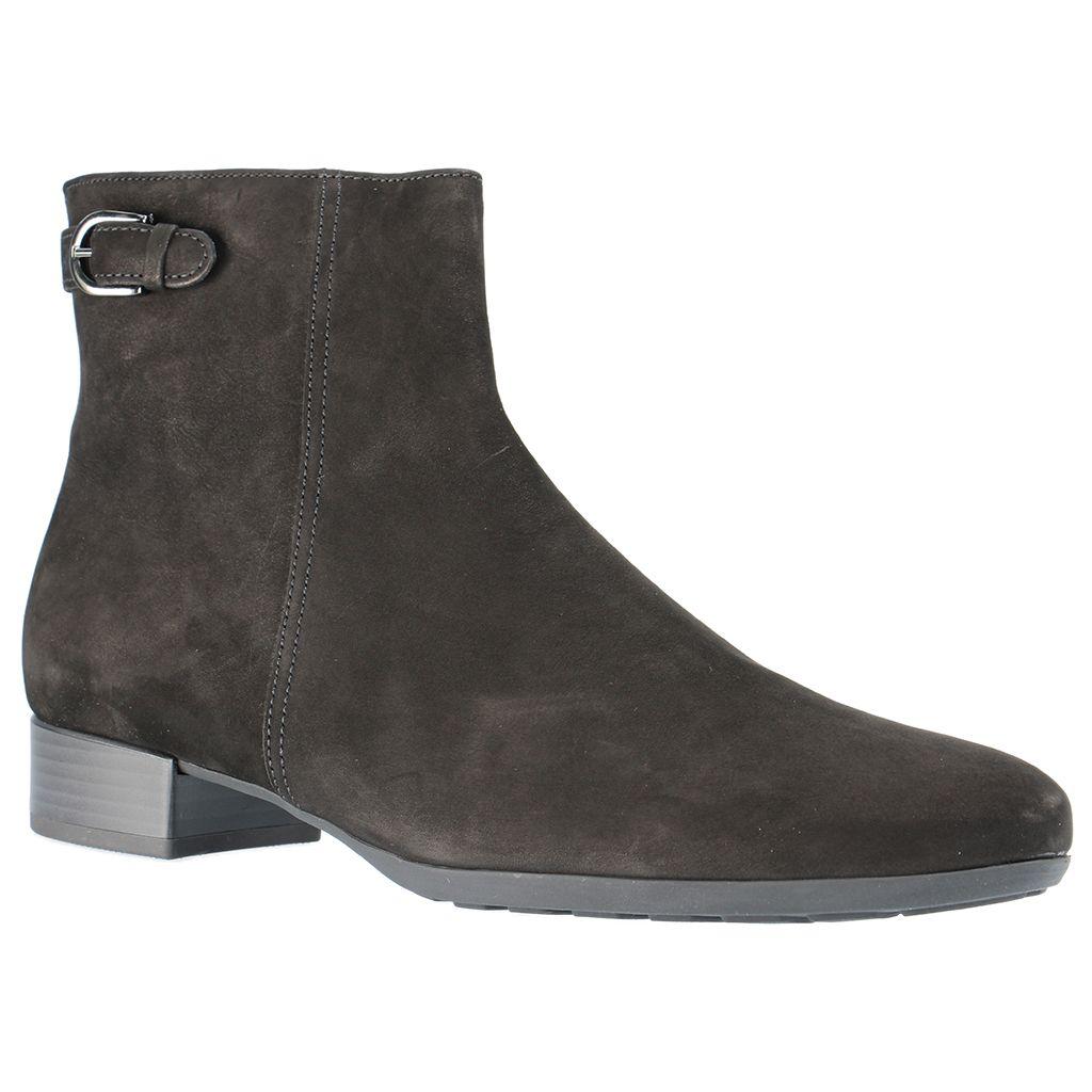 GABOR Damen Stiefeletten Schwarz Schuhe in Übergrößen, Größe:44