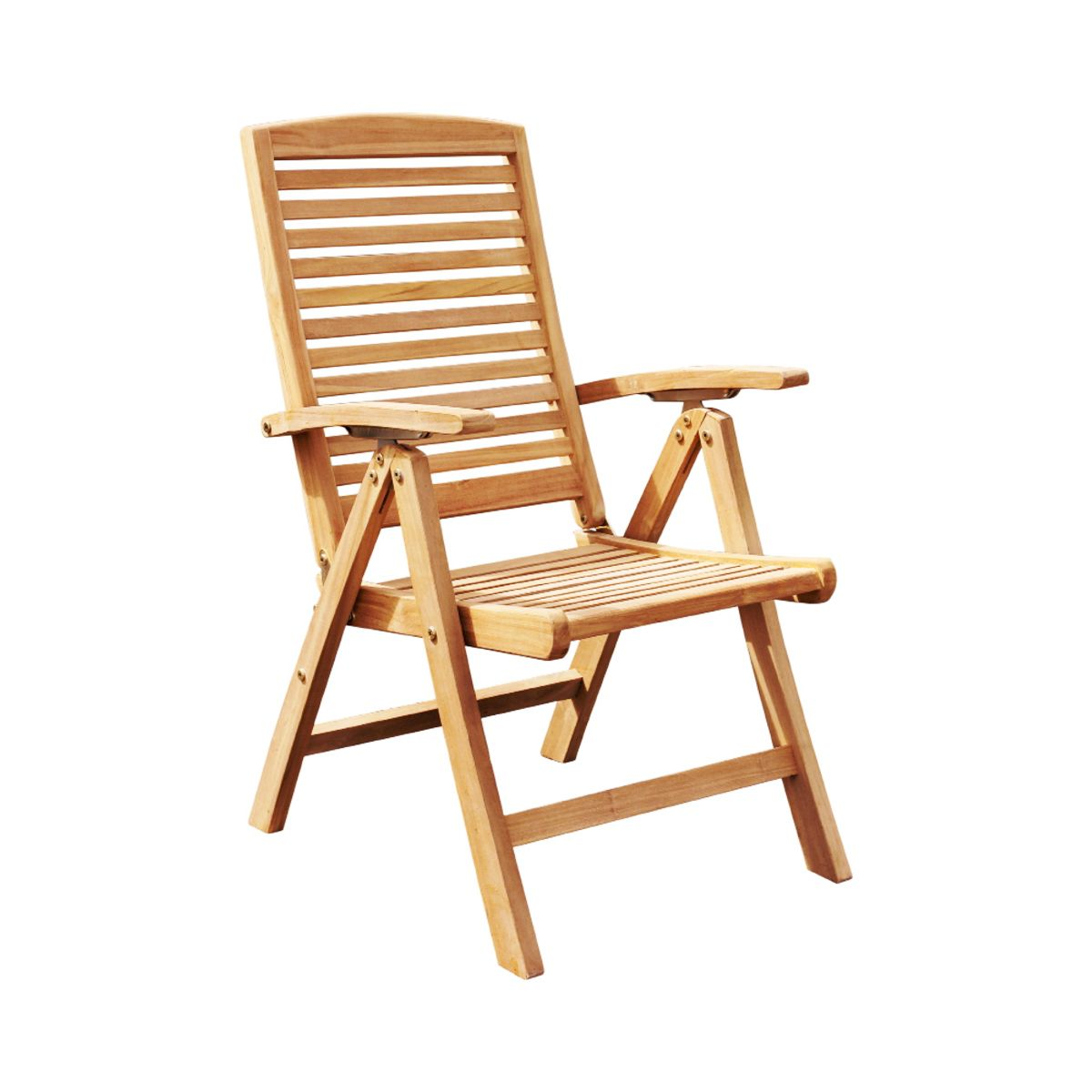 Garden Outdoor Chair, made of solid teak wood. Indonesia ...