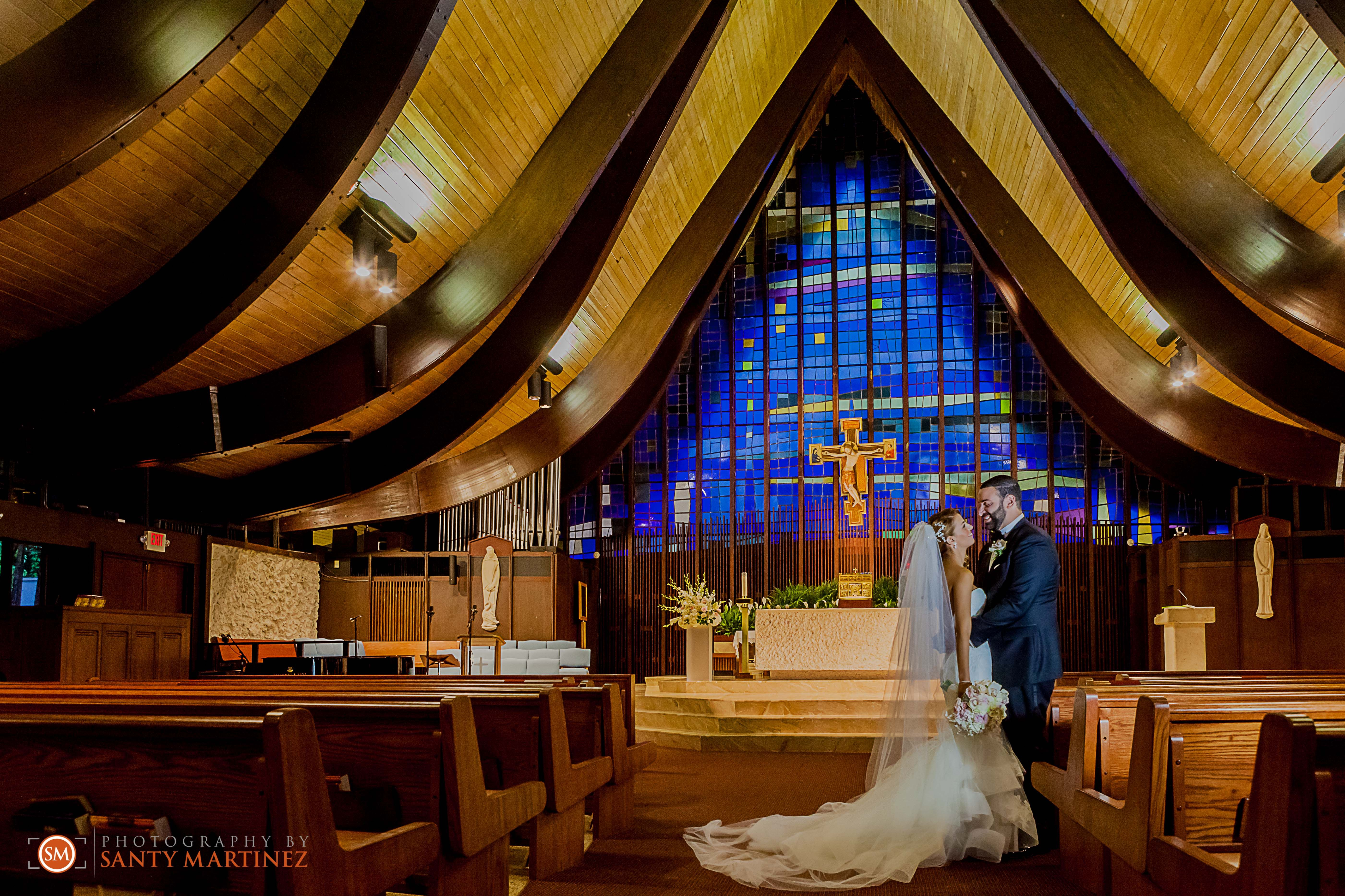 Wedding At St Hugh Catholic Church C Gables Fl