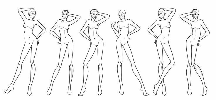Fashion Design Sketches For Beginners Buscar Con Google Fashion Design Sketches Fashion Model Sketch Fashion Design Template