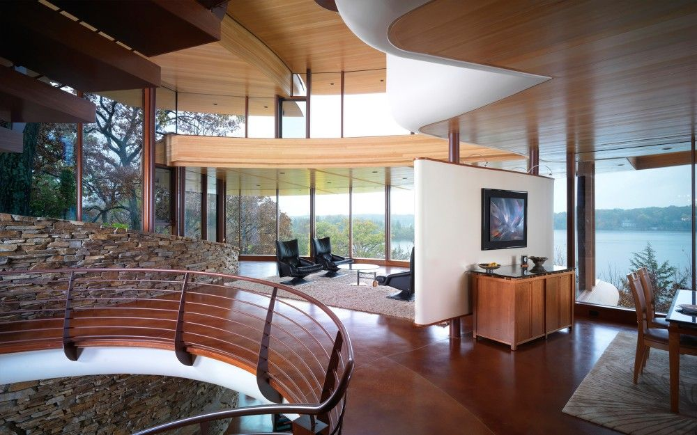 Chenequa Residence Robert Harvey Oshatz Architect