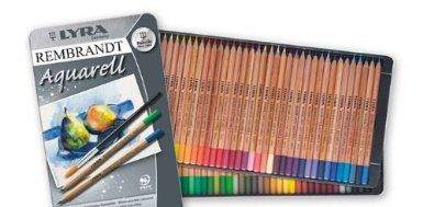 Amazon Com Lyra Rembrandt Aquarell Artists Colored Pencils Set