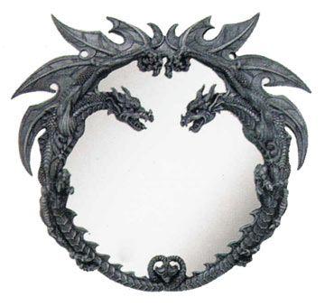 dragon furniture   Decorative Dragon Wall Mirror with Dragon Frame ...