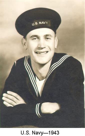 In U. S. Navy - 1943