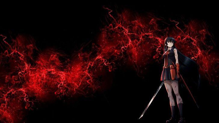 Akame Ga Kill Anime Girl Katana Sword 19201080  Aaaa -6968
