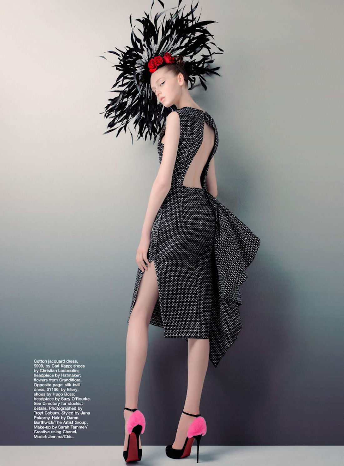 MARIE CLAIRE AUSTRALIA- Jemma Baines in Whos That Girl