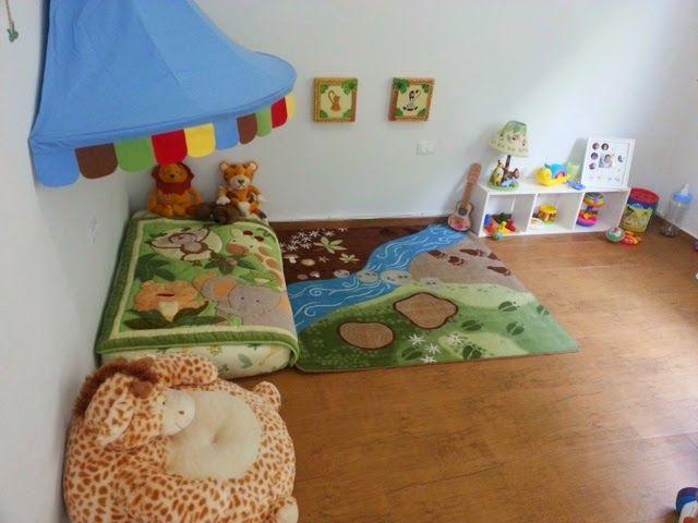 montessori en el hogar cuarto para beb s al estilo