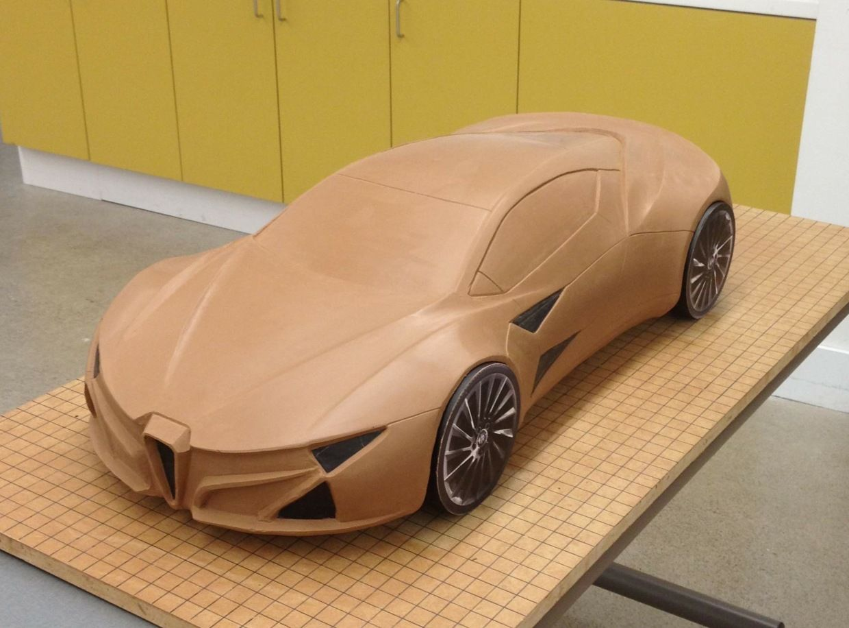 Design of car model - From Car Body Design Alfa Romeo On Behance