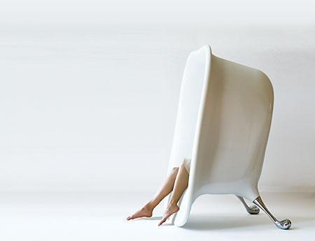 seatub 2010 le fauteuil baignoire revisite par baek ki kim