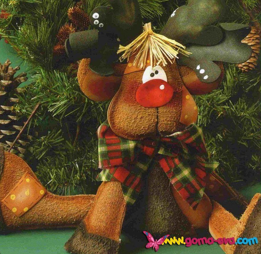 Mas en Goma Evacotillon la doctora jugueteadornos navideños hechos