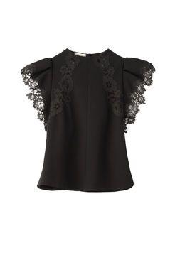 Taylor Gathered sleeves blouse vdwN4McfF