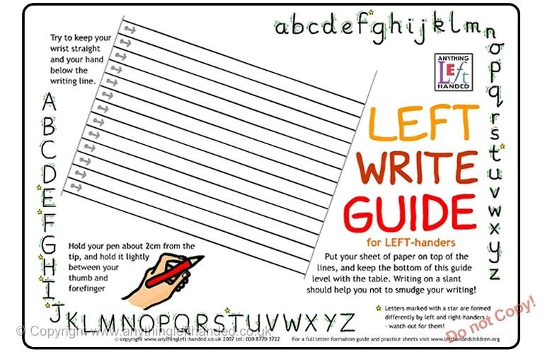 Left write mat i definitely couldve used one of these when i was left write mat also a writing guide for the right handed on the back ibookread Read Online