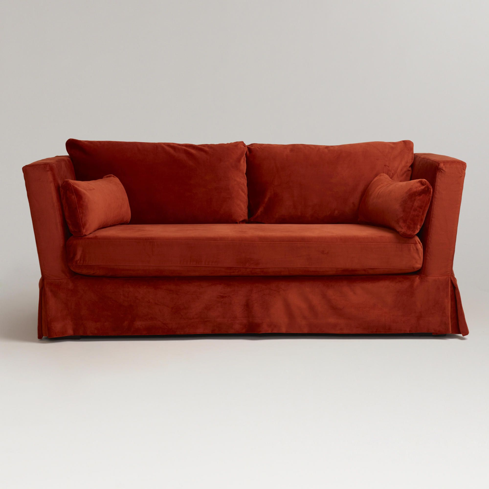 most comfortable couch in the world. This World Market Couch Is The Most Comfortable Burnt Orange Thing Everrr. In I