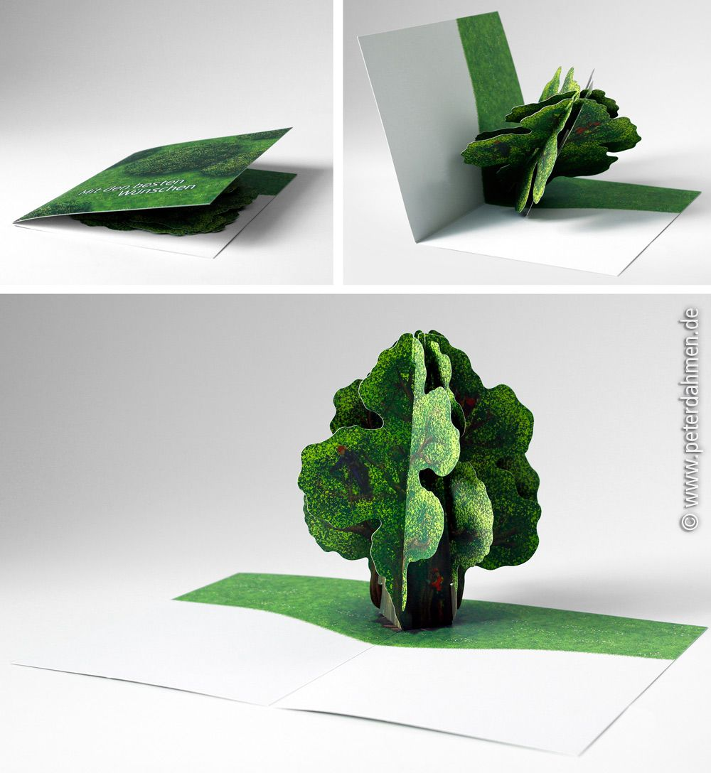 pop up karte baum creactie. Black Bedroom Furniture Sets. Home Design Ideas