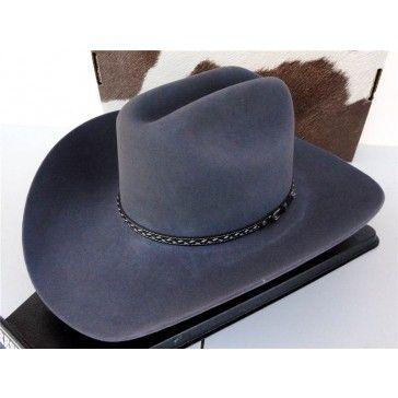 Resistol Cowboy Hat 4X Beaver Fur Granite Stone Mountain George Strait efec15d3bf6c