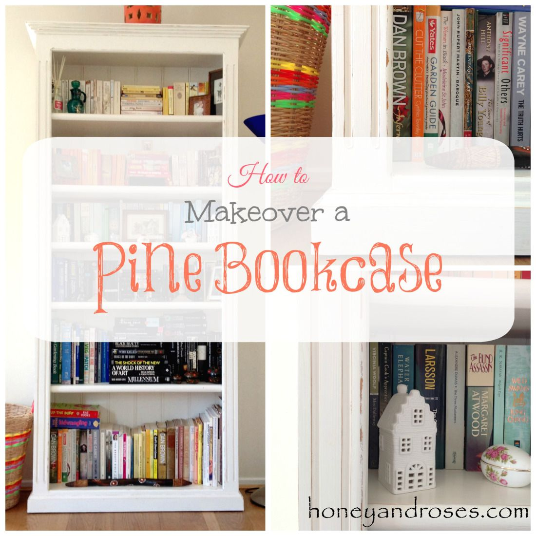here is a simple guide on how to makeover a pine bookcase see more mottisfont painted pine furniture small bookcase