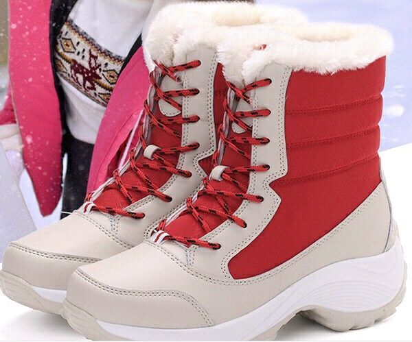 New High Quality Winter Women Boots Thick Fur Very Warm Ladies ...