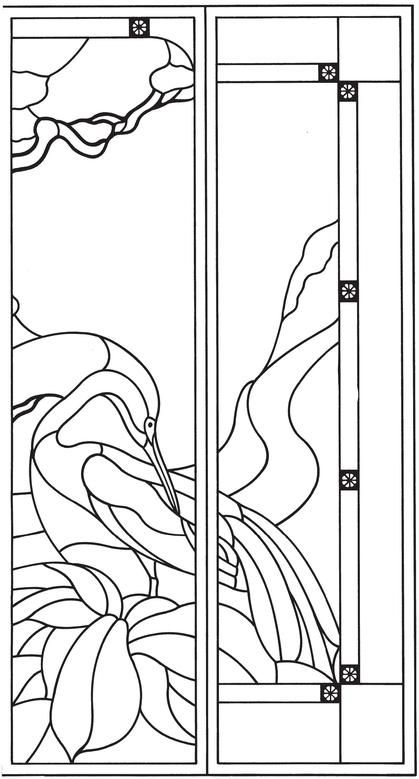 Oriental Design Stained Glass Pattern Book   דוגמאות   Pinterest