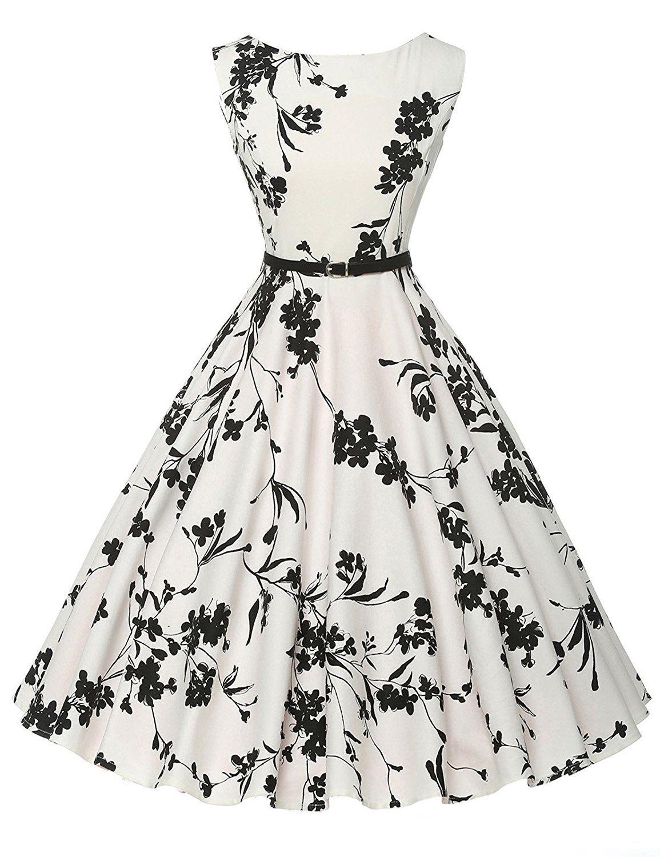 cef372129ad6 GRACE KARIN® Donne Vestiti Estivi Vintage Linea Ad A Casual Cocktail Vestito  Cotone IT6086  Amazon.it  Abbigliamento