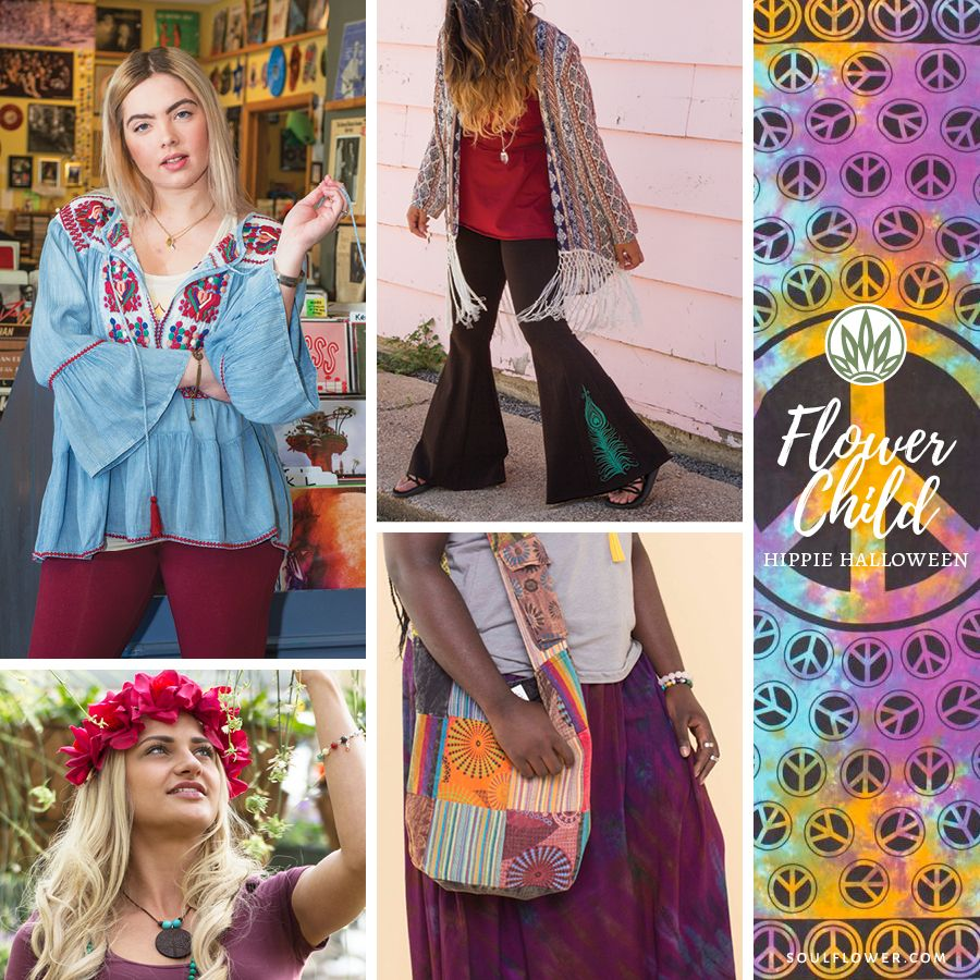 Flower Child Costume What S The Difference Between One Of These Hippie Outfits And A Regular Day Outf Hippie Outfits Diy Summer Clothes Diy Clothes Refashion