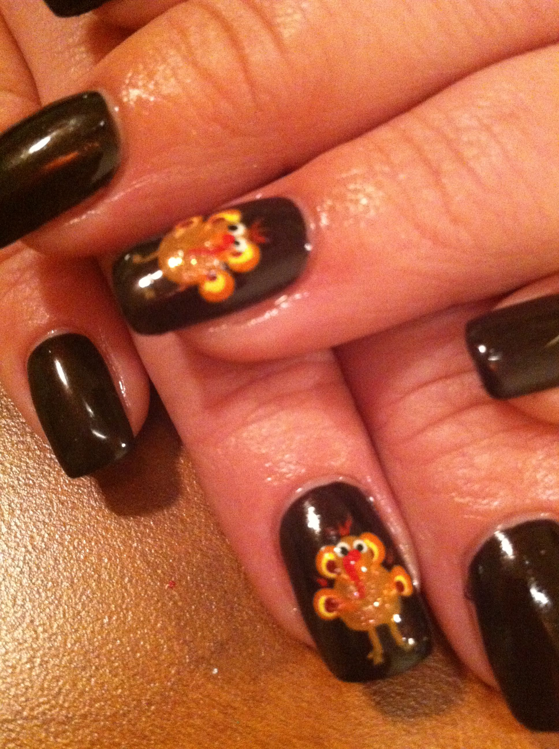 Turkey Nail Art Check Out Mynailpolishobsession For More