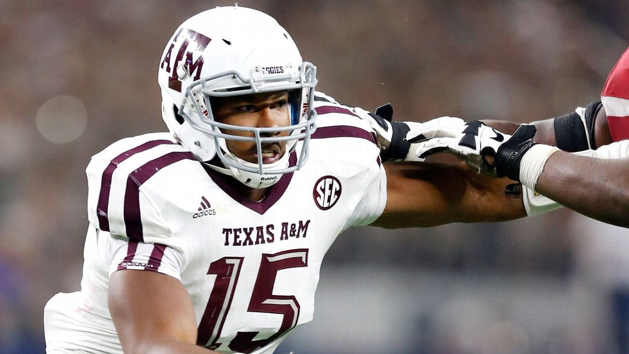 Texas A&M star Myles Garrett is 'a different dude' Myles