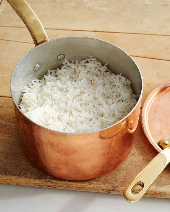 Jaffrey takes the guesswork out of cooking basmati rice with her super simple (and reliable!) method.