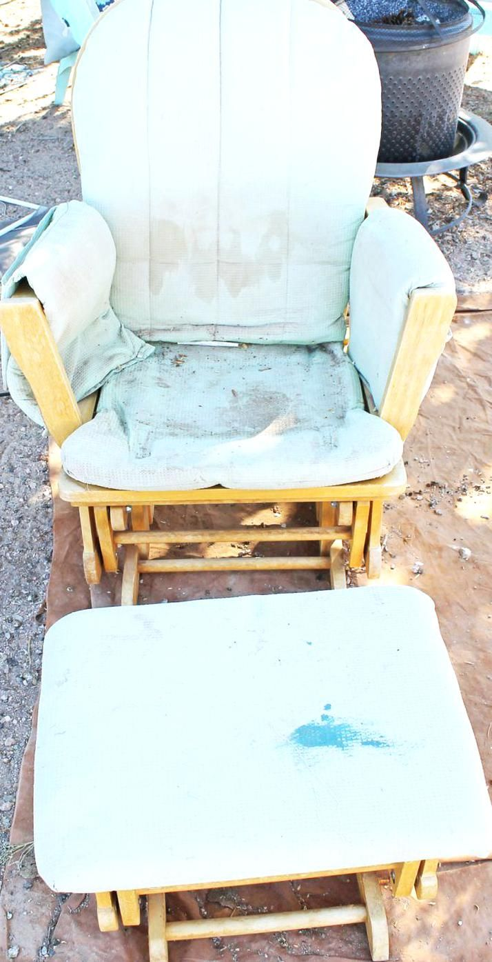 How to Reupholster Glider Cushions - Lauras Crafty Life in ...
