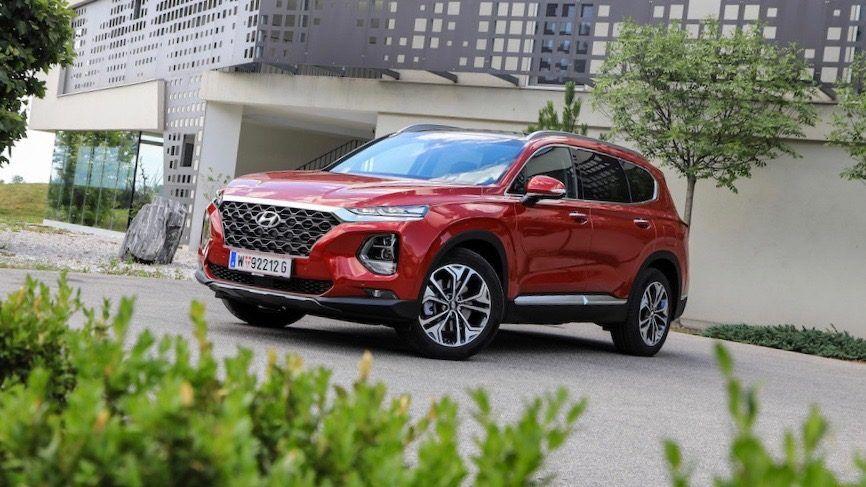 Der Neue Hyundai Santa Fe 2019 Im Bll Test Moderne Komfortabler Suv Mit Viel Potential Platz Geraumigkeit Und Vernunftigen P Santa Fe Autos Automatikgetriebe