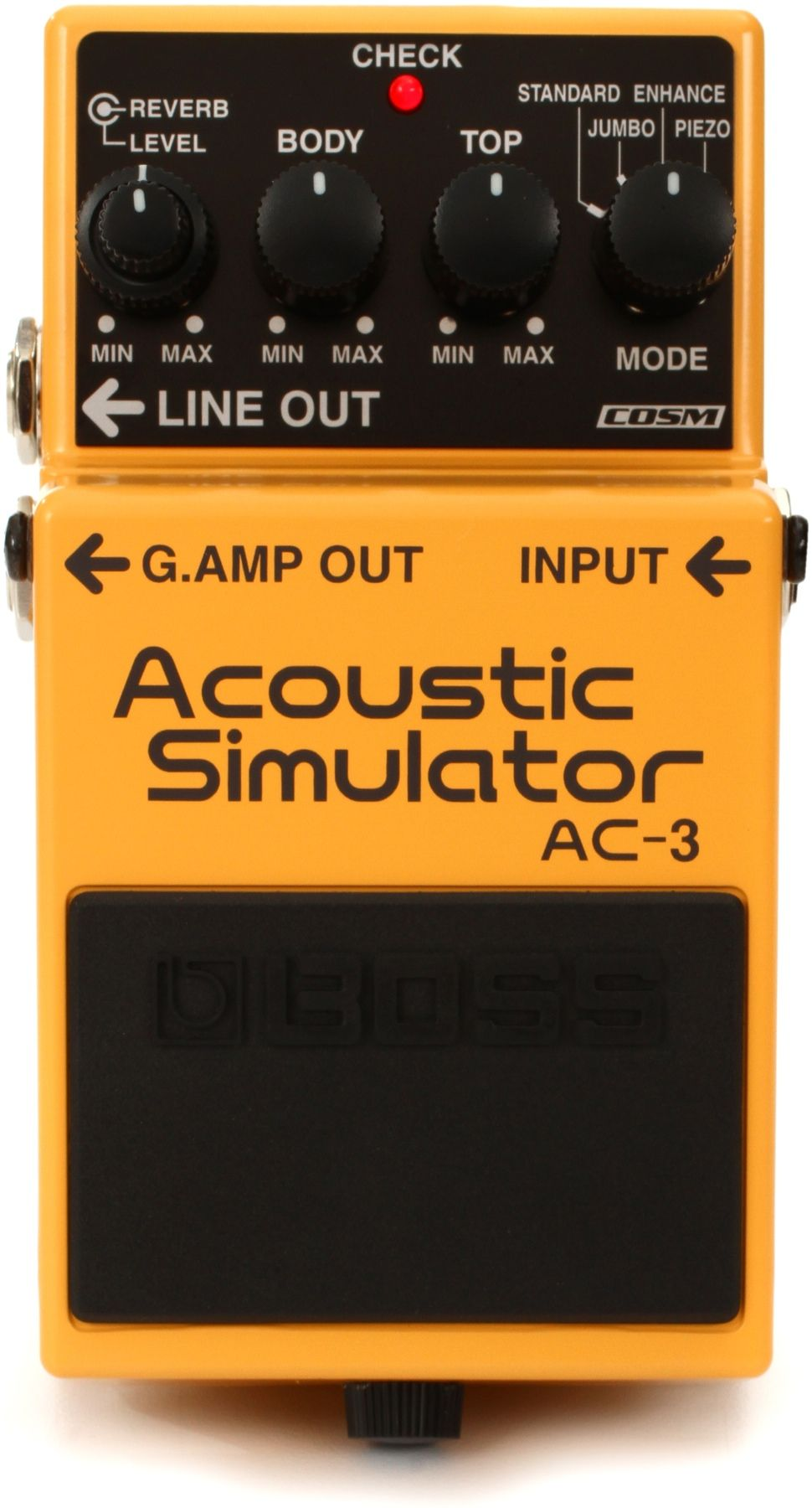 Boss Ac 3 Acoustic Simulator Pedal Boss Pedals Guitar Pedals Acoustic