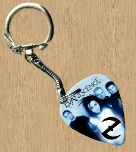 Evanescence Premium Guitar Pick Keyring by Printed Guitar Picks. $7.99. Premium Guitar Pick Snake Chain Keyring.The Pick Is Printed Using The Latest Hi-Tec Digital Printing.The Pick Is Not Just For Show It Is The Guitar Players Choice.Pick Gauge Is 0.71mm (Medium).Pick Is Printed On One Side Only.The Pick Is Brand New And Un-Used!