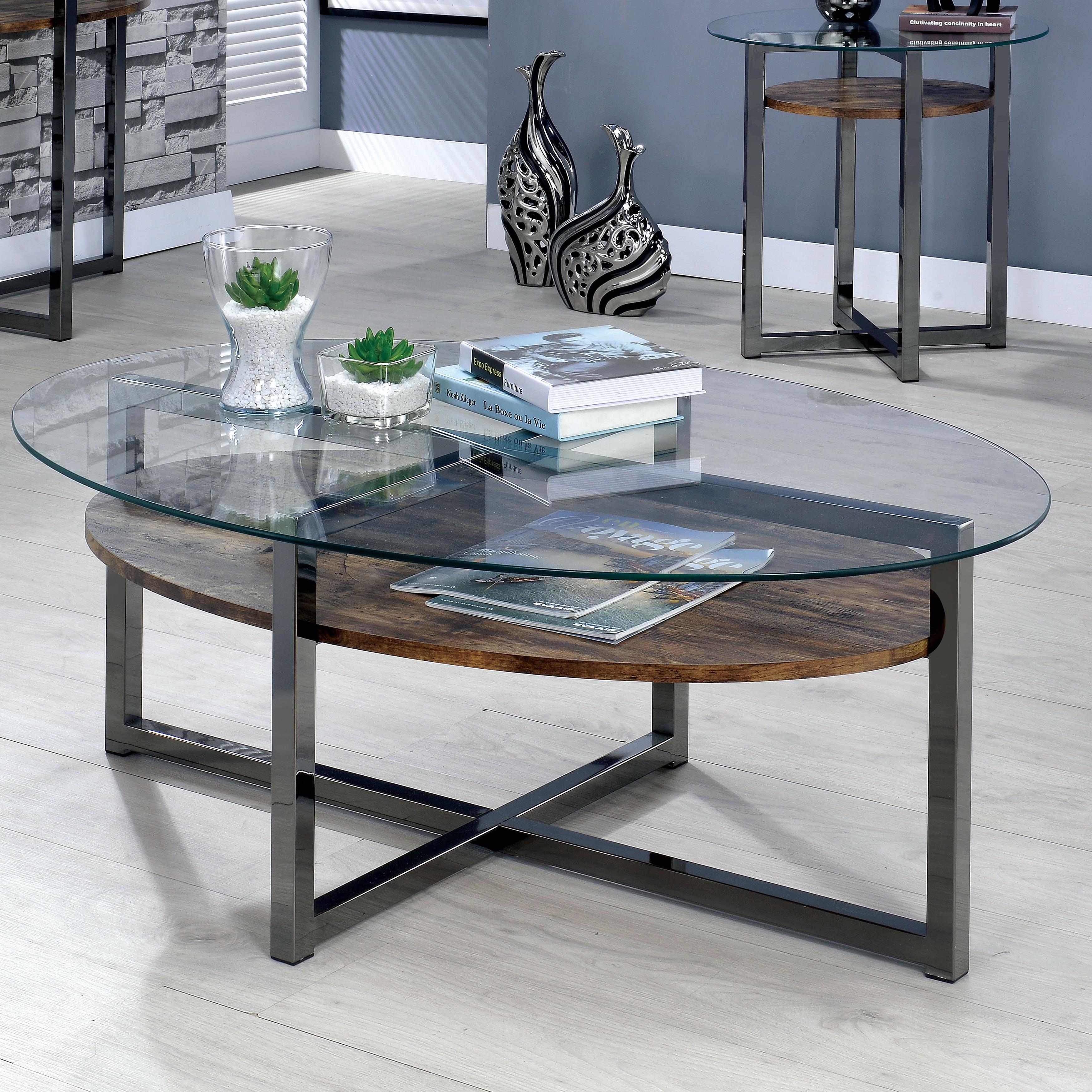 Our Best Living Room Furniture Deals Coffee Table Coffee Table Setting Furniture Of America [ jpg ]
