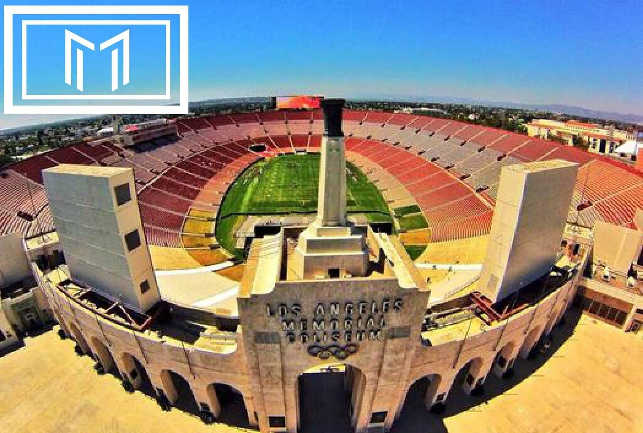 The Coliseum La Landmark Msclt Www Msclt Com Usc Trojans Football Usc Trojans Usc Athletics