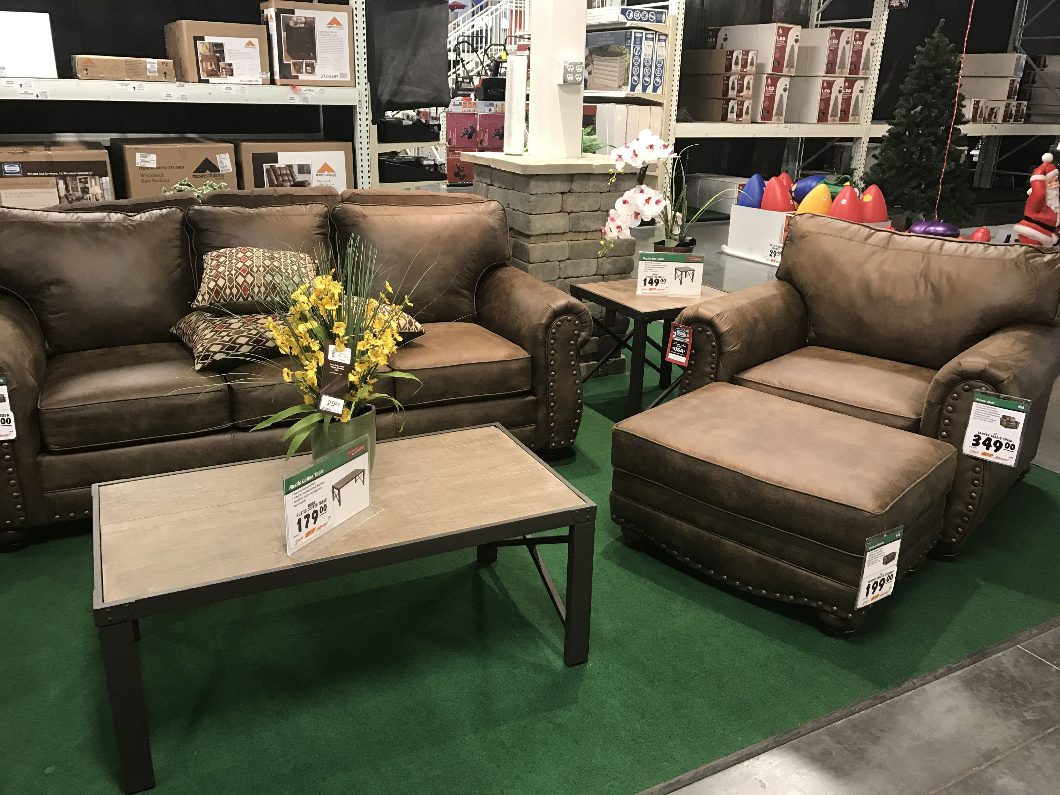 Found At Menards Furniture Sectional Couch Home Decor