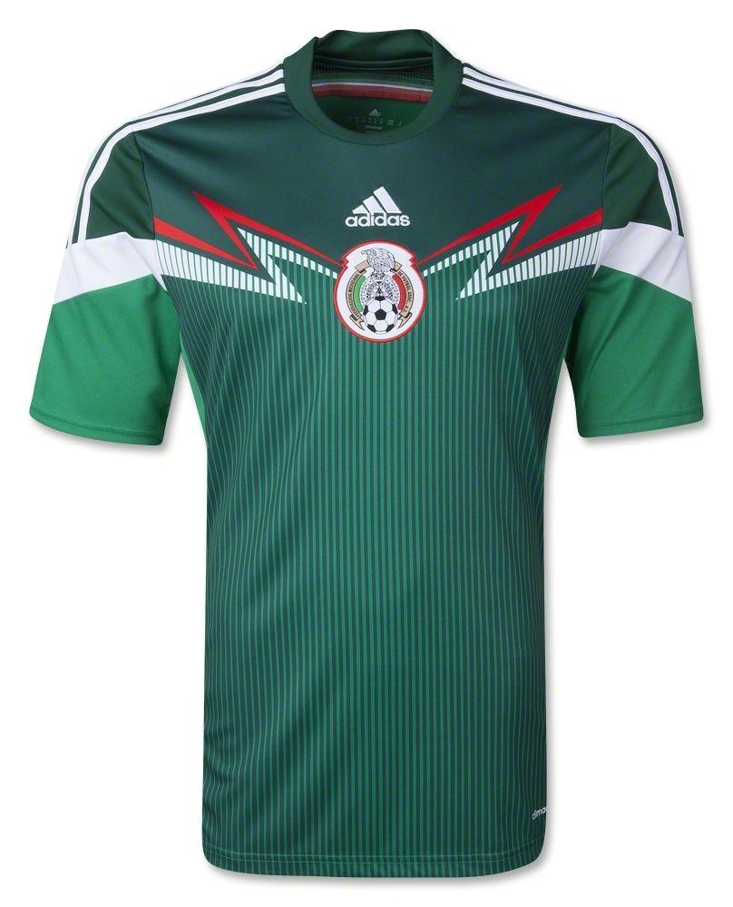 New Mexico 2014/15 Soccer Jersey- Adidas Mexico Home 2014 ... |Mexico National Team Kit