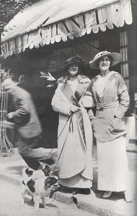 Deauville 1910 With Adrienne Chanel Her Youngest Aunt Chanel Had