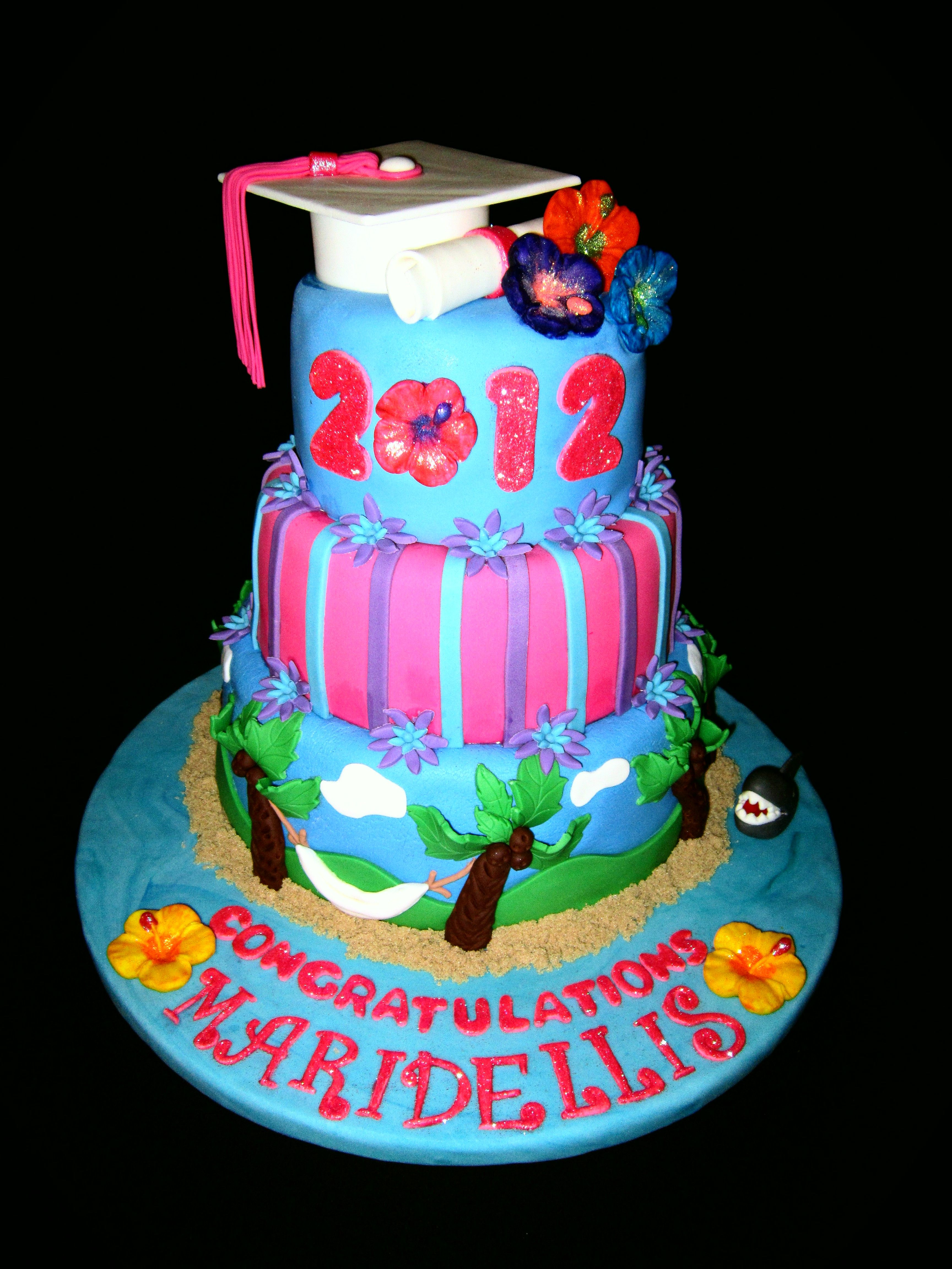 Pictures Hawaii Birthday Cakes