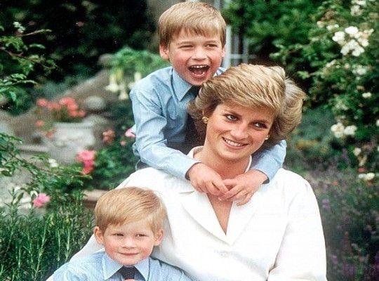 Willian, Diana e Harry