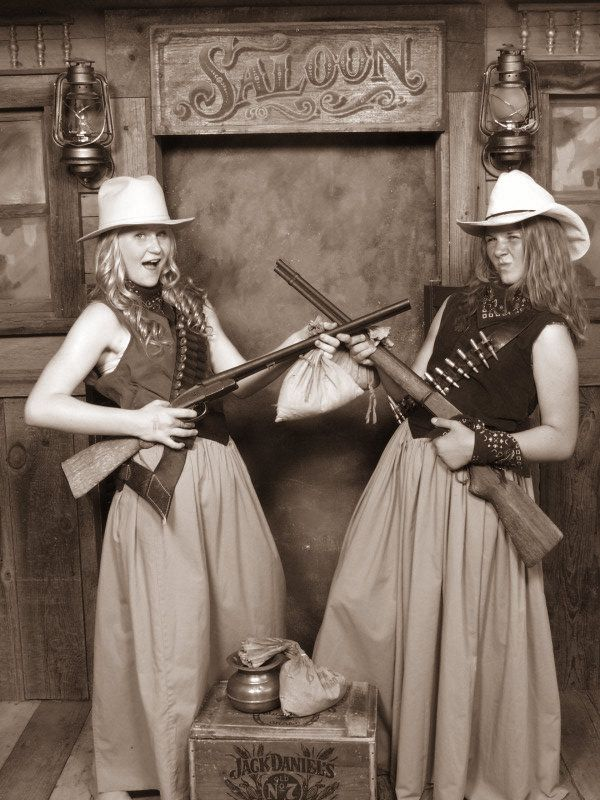 "old time photo ideas - Cute ""Old Time"" idea I need ammo belts & a Saloon"