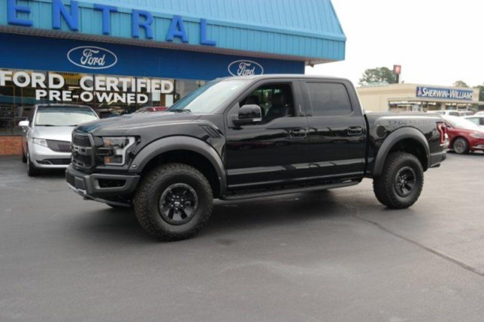 2018 Ford F 150 Raptor Crew Cab 4wd 71 590 Exterior Shadow Black