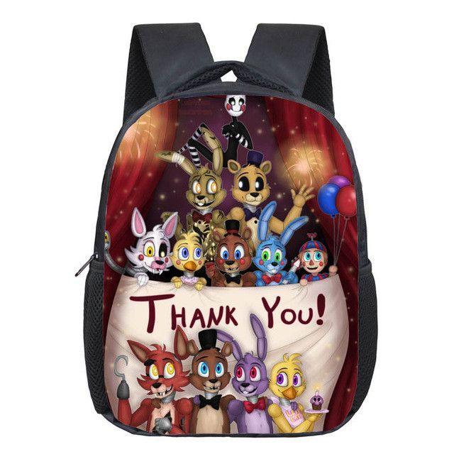 16a5dfaaddbe 12 inch Kids Five Nights At Freddys Backpacks Anime Fnaf Backpack Boys  Girls School Bags Children Book Bag Mini Daily Backpack