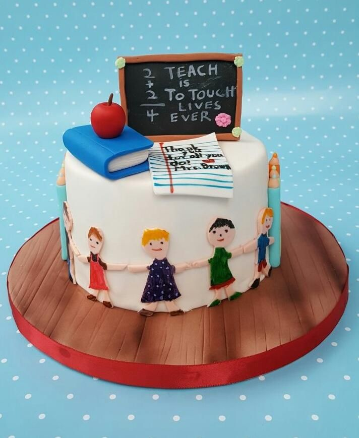 Outstanding Teacher Appreciation By Garima Rawat With Images Teacher Cakes Funny Birthday Cards Online Sheoxdamsfinfo