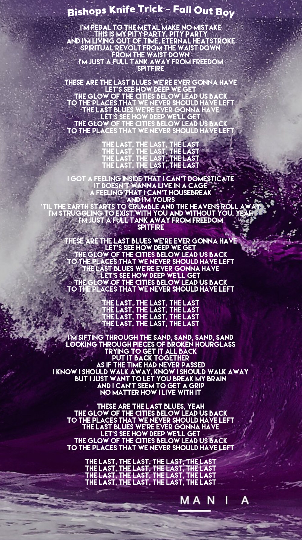 THE BISHOPS LYRICS - SONGLYRICS.com | The Definitive ...