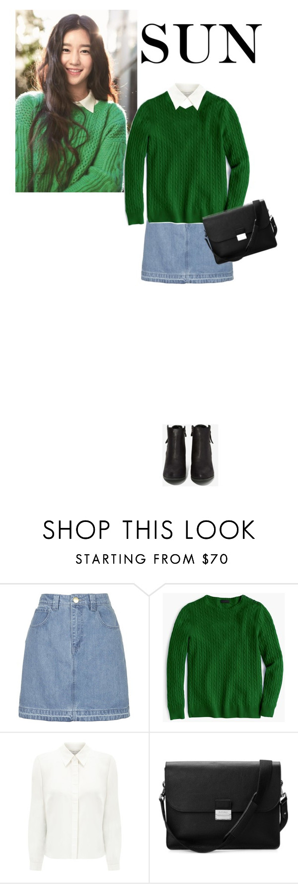 """""""Untitled #229"""" by lerazu ❤ liked on Polyvore featuring Topshop, J.Crew, Eastex, Aspinal of London and N.Y.L.A."""