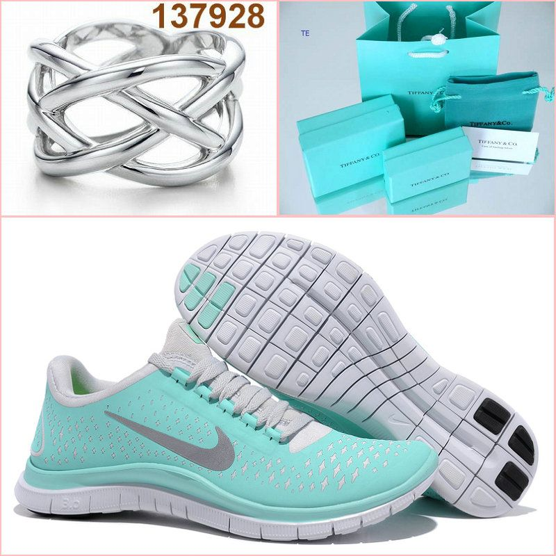 Tiffany co Nike Free 3.0 v4 and Rings Cool...I'm so