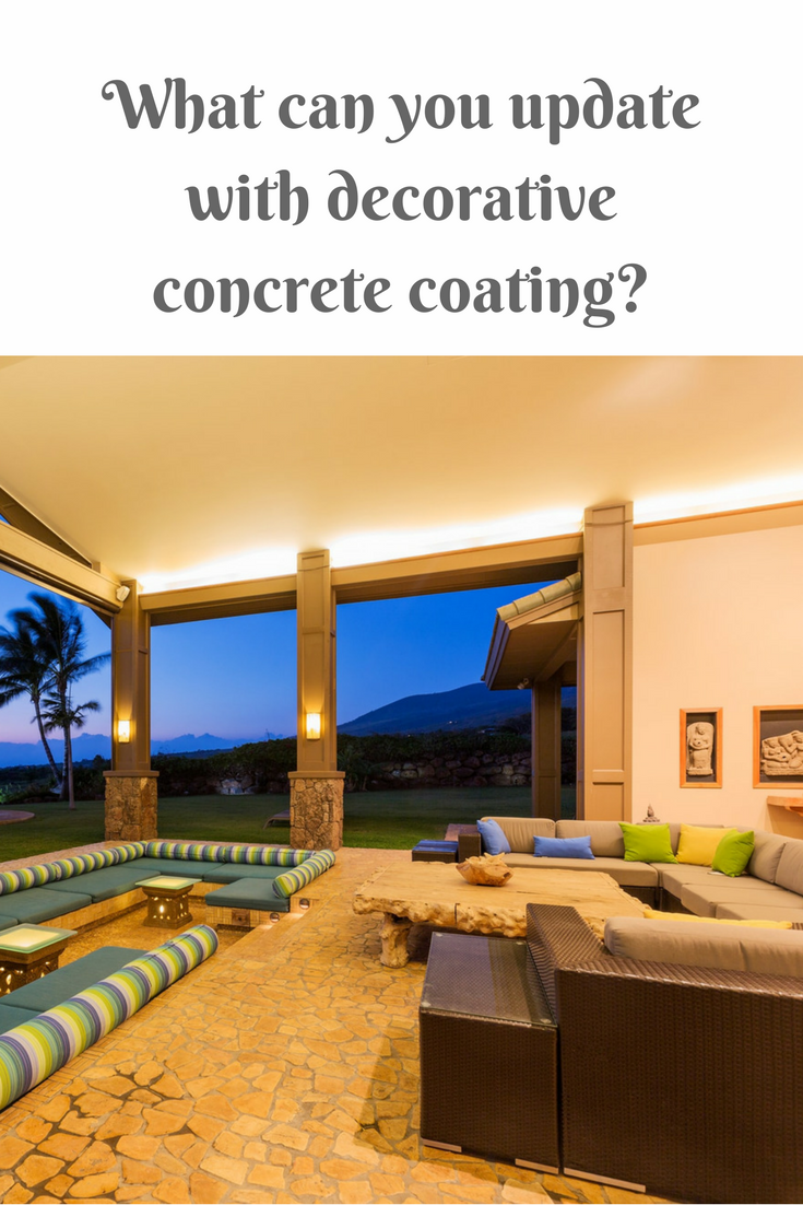 Best Places in Your Draper Home to Upgrade to Concrete Coating ...