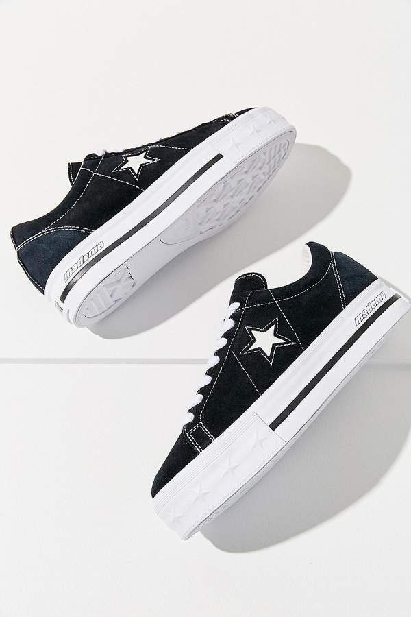 afec85b7fdfb Converse One Star X MadeMe Suede Platform Sneaker