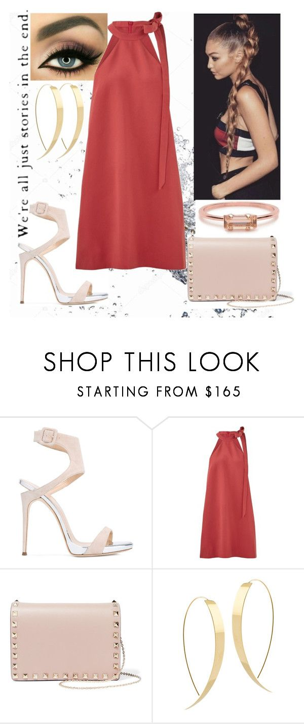 """Untitled #109"" by mariangela06 ❤ liked on Polyvore featuring Giuseppe Zanotti, Keepsake the Label, Valentino, Lana and Bing Bang"