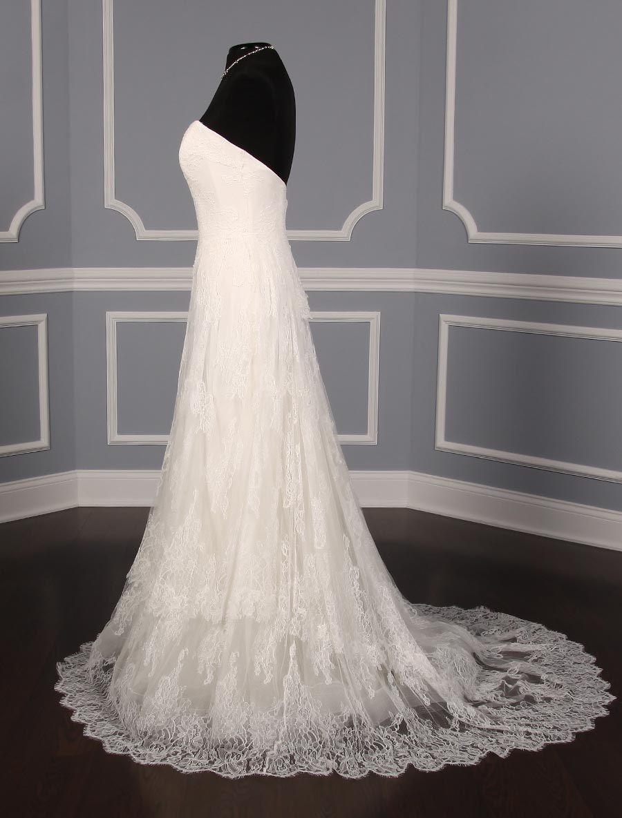 Ulla Maija Anna Maier Liselle 4302 Wedding Dress On Sale Your Dream Dress Discount Designer Wedding Dresses Fit And Flare Wedding Dress Wedding Dresses For Sale